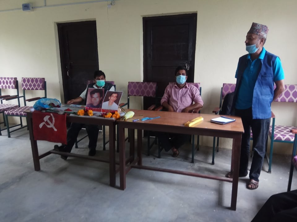 पालुङटारमा सहिद वासु र बैरागीप्रति श्रद्धाञ्जली कार्यक्रम सम्पन्न