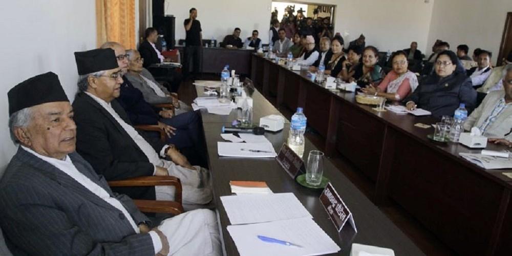 कांग्रेस महाधिवेशन : शक्ति देखाउन नेता तानातान